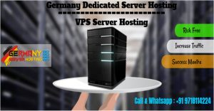 Germany Dedicated Server Hosting & VPS Hosting Plans with highest features